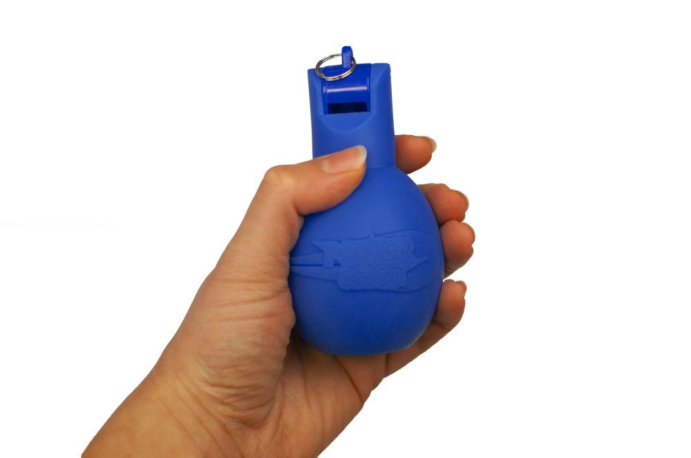 Sifflet poire / Sifflet à main Hygiénique - Couleurs au choix