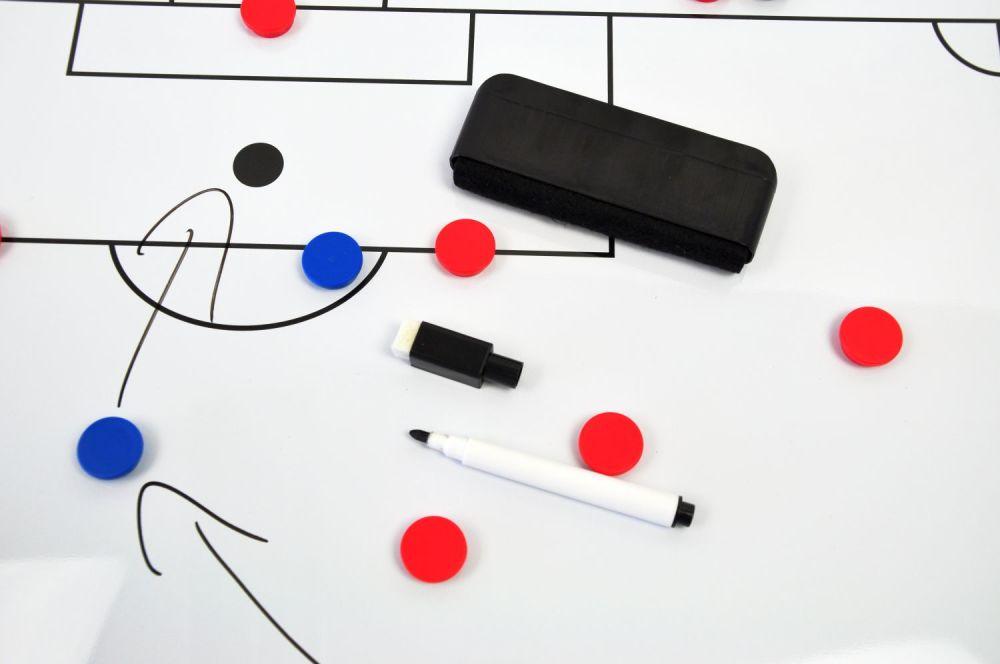 Tableau tactique Football effaçable et magnétique - Modèles au choix