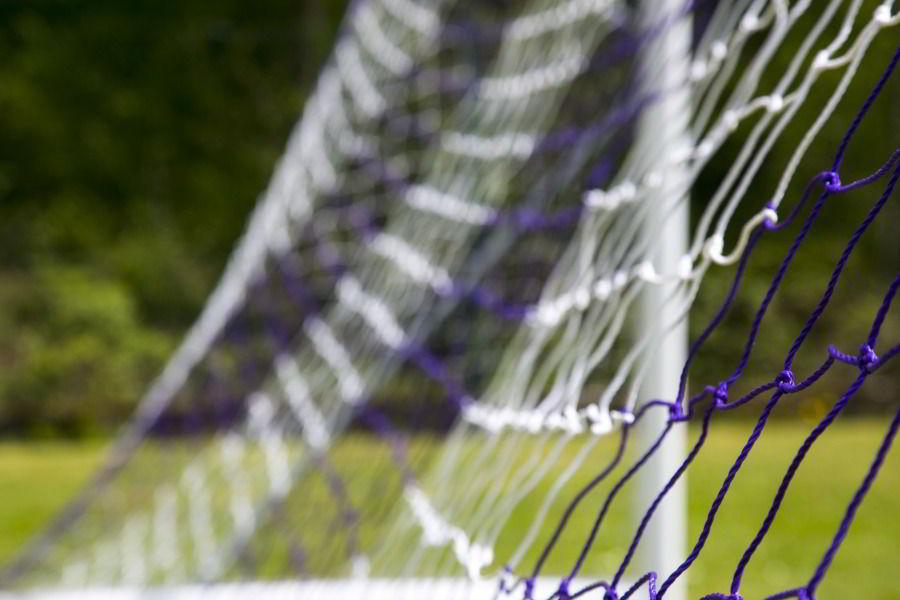 Filet pour but de foot à 11 trapézoidal - Maille carrée - Dimensions / épaisseur du filet et couleurs au choix