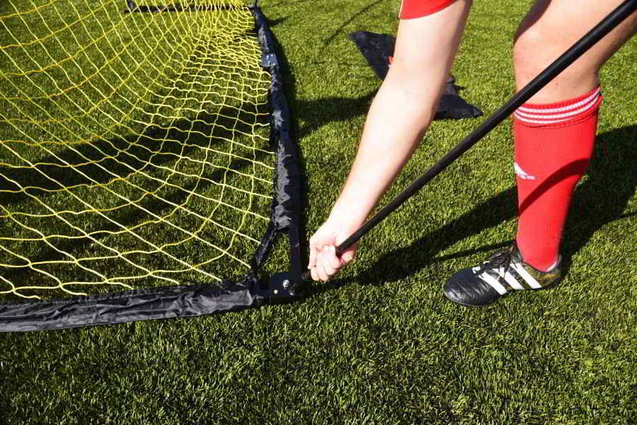 But de foot QuickFire validé par FRANK LEBOEUF auto-lesté : Taille au choix