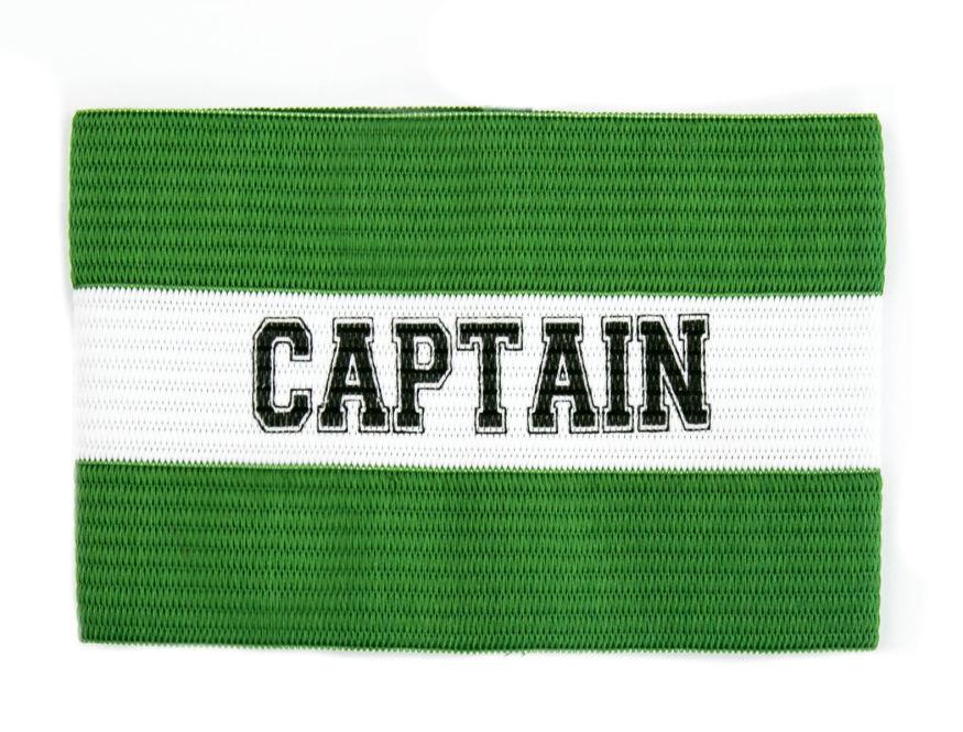 """Brassard de capitaine """"Captain"""" - Couleur et taille au choix"""