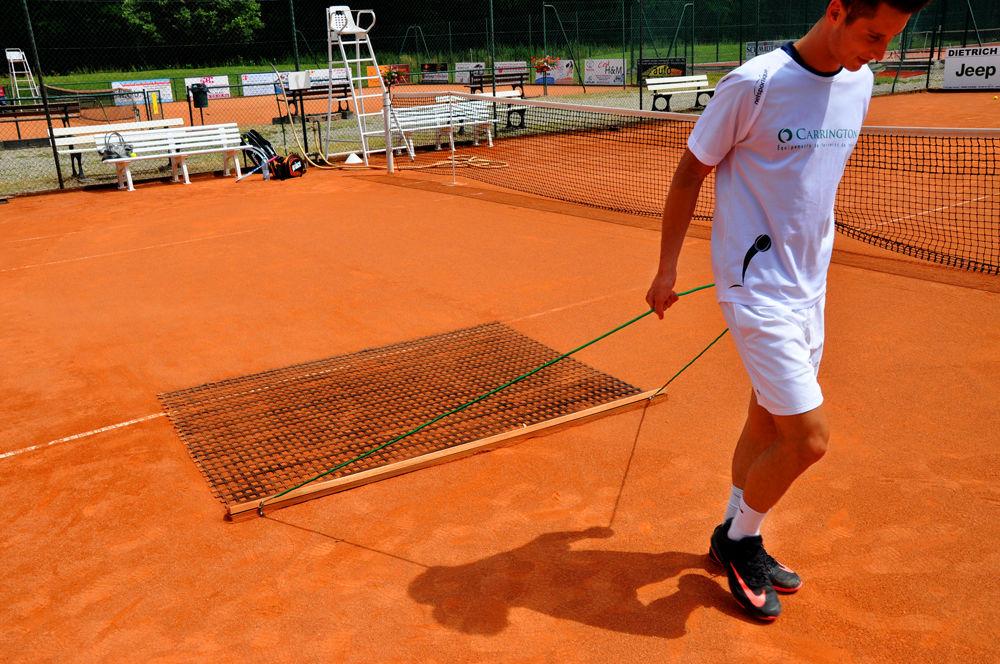 Traine pour court de Tennis - Taille et Matériau au choix
