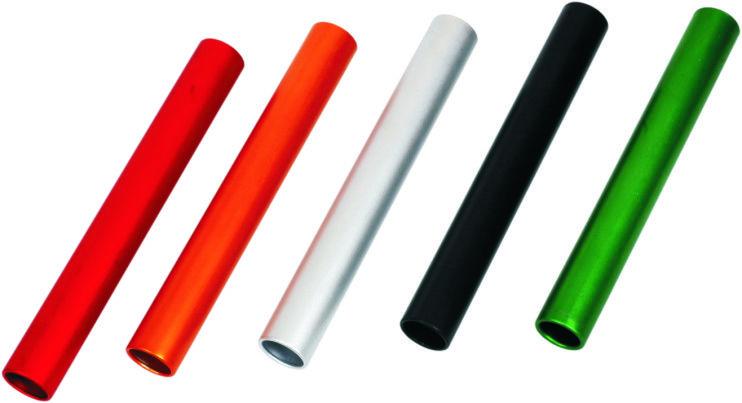Lot de 6 bâtons de relais - Matière aluminium ou PVC